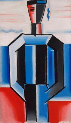 Josef Čapek (Czech 1887–1945) [Cubism] Námořník. Chaim Soutine, Georges Braque, Spanish Painters, Writers And Poets, Geometric Art, Daydream, Mosaics, Sculpture Art, Modern Art
