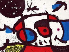Joan Miro Le Bagnard et sa Compagne, 1975,  Masterworks Fine Art