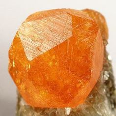 Spessartine is an Orange gemstone of the Garnet family. Some metaphysical properties of Spessartine are:  Productivity in the home; excellent for anyone whose career is in the home; strengthens happiness and contentment. These gemstones vibrate at a very high rate, which imparts a willingness to help others and strengthens the heart. Spessartine enhances analytical process and your rational mind. It is considered and antidepressant as well as suppressant of nightmares.