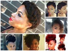 6 Cute Natural Hair-Hairstyles to try This summer! - Shinestruck