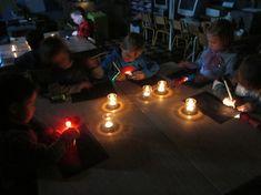 Thema licht en donker - WELKOM in de lollifantklas!