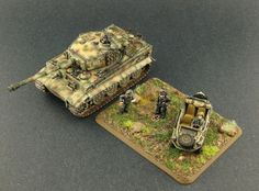 Flames of War | World War II Central: Old Flames of War Miniatures Photos