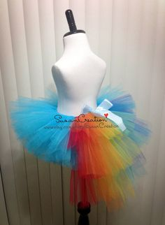 Rainbow Dash tutu Skirt My little pony tutu skirt by SusanCreation