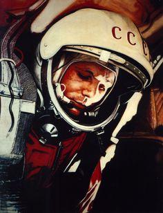 USSR Cosmonaut Helmet