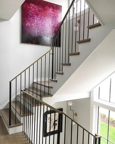 Iron and brass staircase to Turk heaven. 35 uniquely individual Francine Turk…