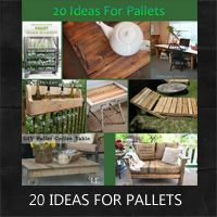 unique ideas for repurposing pallets