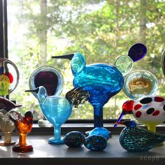 Birds by Toikka Egg iittala Dan B, I Icon, Glass Birds, Bird Art, Home Deco, Sculpture Art, Making Ideas, Architects, Glass Art