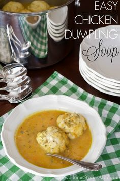 The BEST Chicken Dumpling Soup recipe out there and is a family favorite! Recipe based on an old Colonial Williamsburg recipe and considered the perfect winter soup. Step by step instructions included.