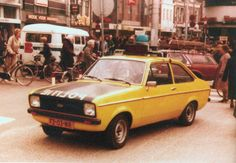 Dutch - 1970's Ford Escort