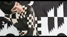 Janine Rewell and Minna Parikka Collaboration: Body Painting and Scandinavian Spring