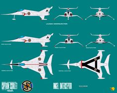 Gerry Andersons Captain Scarlet Angel Interceptor by ArthurTwosheds on DeviantArt Timeless Series, Thunderbirds Are Go, Sci Fi Ships, Classic Sci Fi, Sci Fi Tv, Kids Tv, Sci Fi Fantasy, Super Cars, Film