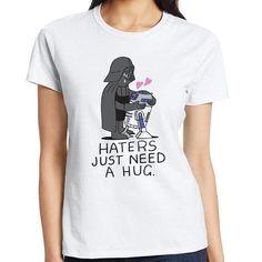 Haters Just Need A Hug Star Wars T-Shirt Darth Vader