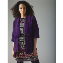 Lion's Pride® Woolspun® Crochet Cardigan (Level 1)