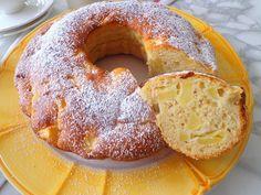 Jabłkowe ciasto z jogurtem, bez masła (Ciambella alle mele e yogurt, senza burro) | La grande e la piccola cuoca