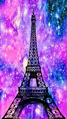 Eiffel Tower galaxy iPhone/Android wallpaper I created for the app CocoPPa! Unicornios Wallpaper, Cute Galaxy Wallpaper, Paris Wallpaper, Trendy Wallpaper, Cute Wallpaper Backgrounds, Wallpaper Iphone Cute, Pretty Wallpapers, Disney Wallpaper, Iphone Wallpapers