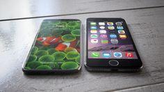 Nuevo Concepto del iPhone 8 muestra la pantalla sin bisel y su Touch iD en pantalla