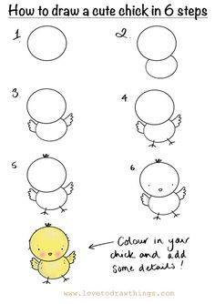 Love To Draw Things: How to draw a cute fairy in 6 steps Easy Animal Drawings, Easy Doodles Drawings, Easy Doodle Art, Easy Drawings For Kids, Simple Doodles, Art Drawings Sketches, Drawing For Kids, Cute Drawings, Art For Kids