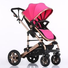 Luxury Baby Stroller Folding Baby Carriage