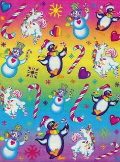 Lisa Frank...always had to have her folders for school