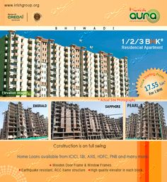 Krish Aura offers you very spacious, luxurious, multistory apartments in a Wi-Fi campus with very affordable prices. Krish Aura 3BHK apartments with floor area 600 Sqfeet (55.74 Sq Meter)18.15 Lacs.This Project in high rises configuration. Krish Aura has fully equipped luxuries apartments in Affordable Prices.You can book your apartment Now.