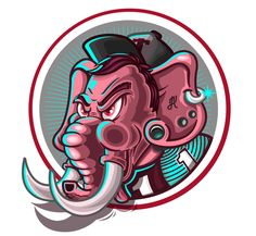 THE ELEPHANT! on Behance