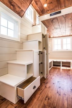 28′ Timbercraft Tiny Home with Two Oversized Dormer Lofts – Tiny House Lover