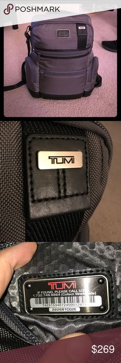 Tumi Knox Waterproof Backpack Brand new with tags.  Tumi makes some of the finest quality luggage wear in the world, and their products are guaranteed for life.  100% ballistic nylon and 100% polyester lining.  100% authentic.  Lowball offers will be ignored. Tumi Bags Backpacks