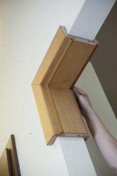 Home Door Design, Temple Design For Home, Home Stairs Design, Interior Door Trim, Door Design Interior, Door Frame Molding, Moulding, Mdf Doors, Wooden Doors