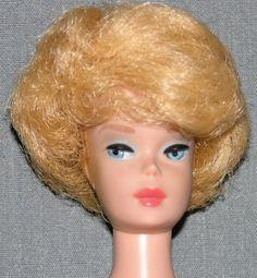 Bubble-hair Barbie