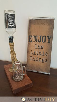 Industrial Pipe Liquor Dispenser - Kitchen Photo 4