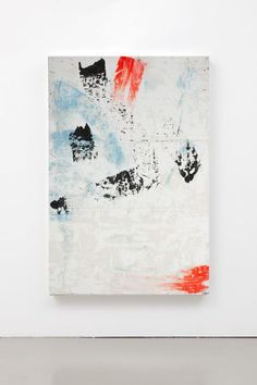 Large abstract painting large canvas painting wall art white painting black orange light blue coral abstract art canvas art huge painting