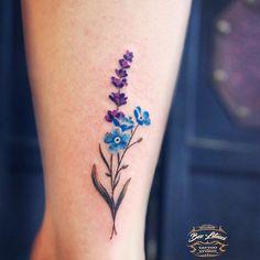 Pretty Flower Tattoos, Flower Wrist Tattoos, Ribbon Tattoos, Flower Tattoo Designs, Beautiful Tattoos, Mini Tattoos, Cute Tattoos, Small Tattoos, Tatoos
