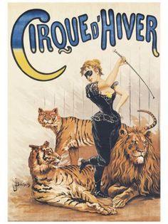 Vintage Circus Poster - Paperblog