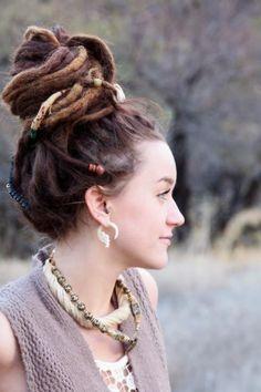Girl with dread locks