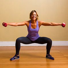 13 Ways to Tone the Inner Thighs- I have seen some of these exercises suggested elsewhere!