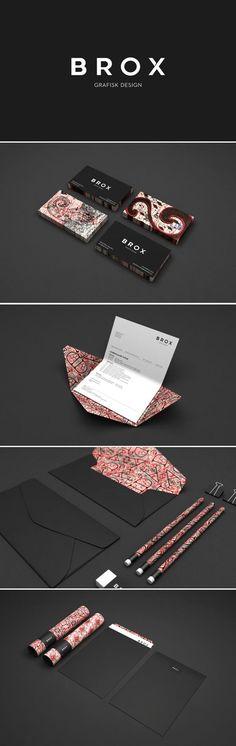 Cool Brand Identity Design. BROX. #branding #brandidentity [http://www.pinterest.com/alfredchong/]
