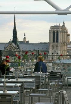Le Georges café, Centre Pompidou, Paris