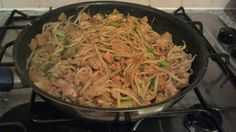 A nice easy recipe for a stir fry from scratch, with a spicy peanut sauce and lots of healthy veggies!         Serves 2-3, dependent on your...