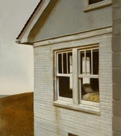 Bo Bartlett My Childhood 2010 From home series American Realism, American Artists, Bo Bartlett, Nostalgia, Andrew Wyeth, Home Art, Illustration Art, Illustrations, Contemporary Art