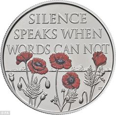 A special Remembrance Day coin was inspired by the famous war poem, In Flanders Fields. Royal Mint graphic designer Stephen Taylor revealed he had thought of John McCrae's words.