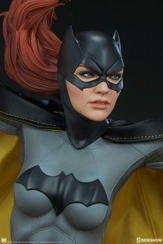 "Pre-order ""Tonight, Gotham belongs to Batgirl. Sideshow presents the Batgirl Premium Format™ Figure. The Batgirl . Batgirl Cosplay, Batman And Batgirl, Batman Arkham, Marvel Vs, Marvel Comics, Comic Books Art, Comic Art, Bugs Bunny Pictures, Super Hero Costumes"
