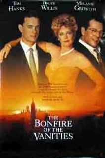 Directed by Brian De Palma. With Tom Hanks, Bruce Willis, Melanie Griffith, Kim Cattrall. After his mistress runs over a young teen, a Wall Street hotshot sees his life unravel in the spotlight and attracting the interest of a down and out reporter. Blockbuster Movies, 90s Movies, Movies To Watch, Good Movies, Bad Film, Film Movie, Morgan Freeman Movie, Tom Hanks Movies, Tom Wolfe
