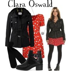 """Clara Oswald 50th Anniversary episode"" by companionclothes on Polyvore"