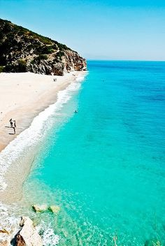 430 km of amazing coastline - Visit Albania Albania Beach, Albania Travel, Visit Albania, Oh The Places You'll Go, Cool Places To Visit, Places To Travel, Travel Destinations, Vacation Travel, Voyage Montenegro