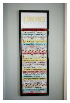summer to-do list - free printables! make a list of all the fun things you want to do this summer.