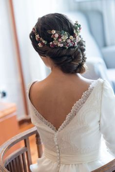 """Coiffure mariage : sole alonso """"x"""""""