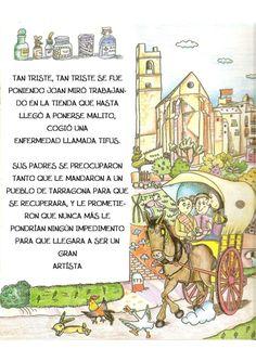 La pequeña historia de joan miro Joan Miro, Fictional Characters, Tapas, Gardens, Children's Books, Kid Art, Historia, Kids Education, Preschool Education