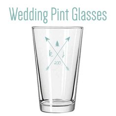 custom pint glasses as wedding favors the thrifty ginger wedding