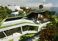 The Futuristic Cocoon House