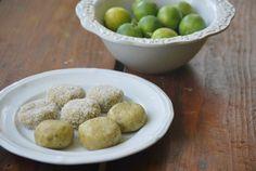 raw key lime cookies